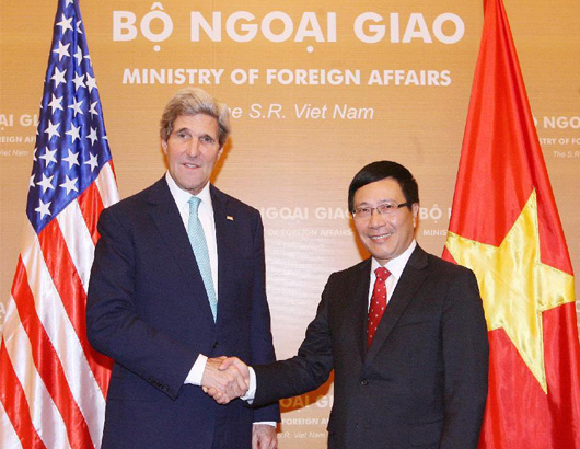 Mỹ giúp Việt Nam tăng cường an ninh biển